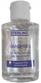 160 x Pocket Sized - Hand Sanitiser Gel (50ml)