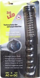 36-LED Handlamp/Torch (+ in-car charger)