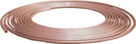 Soft Copper Brake Pipe 1/4 x 25ft