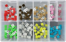 Assorted Micro 2 Blade Fuses (160)