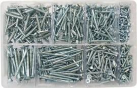 Assorted Wood screws BZP (680)