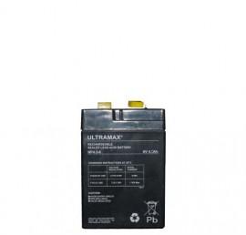 6v 4.0Ah Sealed Lead Acid Battery