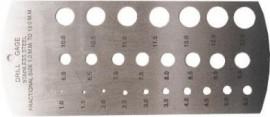 Drills Gauge METRIC (1-13mm)