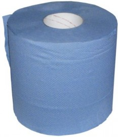 Paper Wipes 2-ply 190mm x 150m Blue