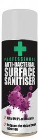 Anti Bacterial Surface Sanitiser (400ml)
