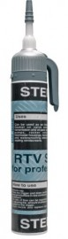Silicone sealant Power Can BLACK - Instant Gasket (200ml)