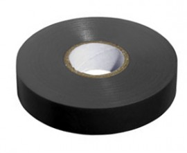 50 x Black PVC Insulating Tape BS EN 60454-2, 19mm X 20m