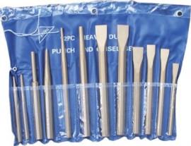 12 Piece Chisel & Punch Set