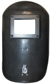 Hand held welding shield